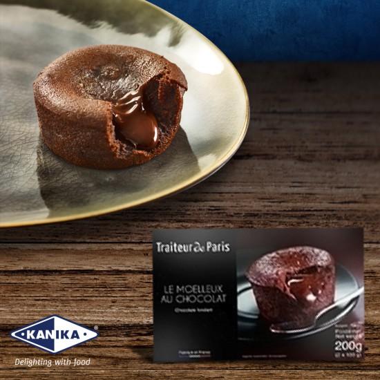KANIKA CLASSIC CHOCOLATE FONDANT (100GMX2PCX12BOX)