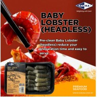 KANIKA IQF RAW HOSO BABY LOBSTER (200G X 30TRAY)