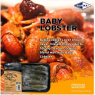 KANIKA IQF RAW HOSO BABY LOBSTER (450G X 30TRAY)