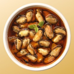 Chile Whole Shell Mussel [WSM-10] (454GM X 10PKT)