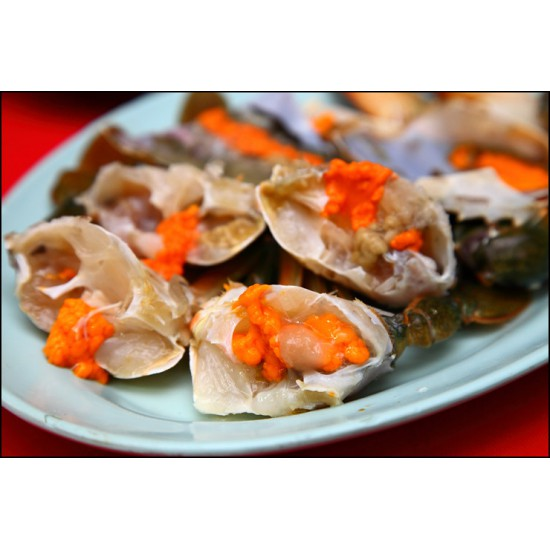 JITRAMAS PASTEURIZED CRAB MEAT- ROE  (340G X 12CAN)