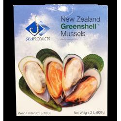 NEW ZEALAND GREENSHELL MUSSELS (907GMX12PKT)