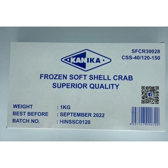 KANIKA FROZEN SOFT SHELL CRAB 120/150 (1KG X 10BOX )