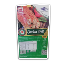KANIKA CHICKEN ROLL SALTED EGG [4PC/PKT] (240GMX20PKT)