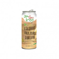 GENTREE DURIAN COCONUT MILK (240MLX24CAN)